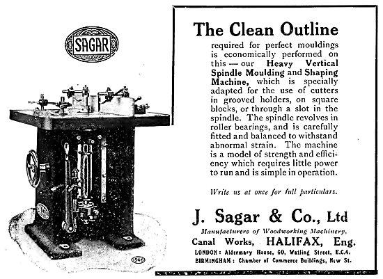 Sagar Moulding & Shaping Machine
