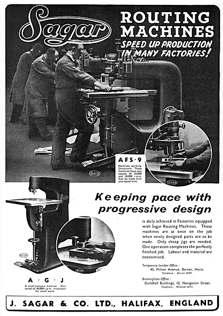 Sagar Machine Tools - Routing Machines
