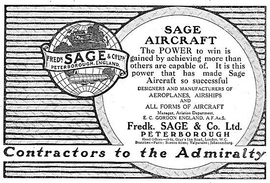 Sage Aircraft - The Power To Win