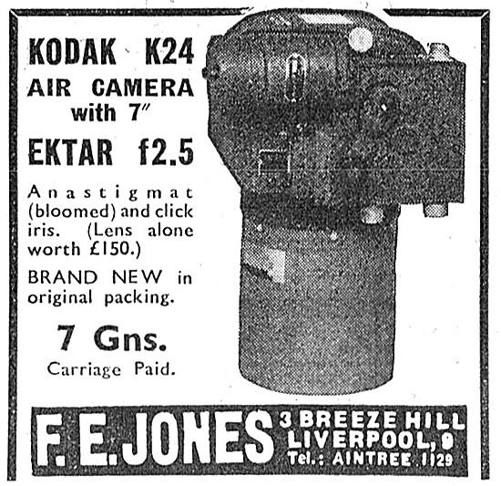 F.E.Jones. Kodak K24 Air Camera