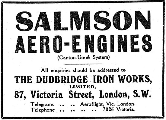 Salmson (Canton-Une System) Aero-Engines