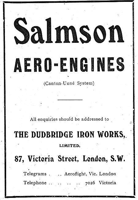 Salmson (Canton-Une System) Aero Engines