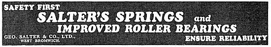 Salter's Springs & Roller Bearings