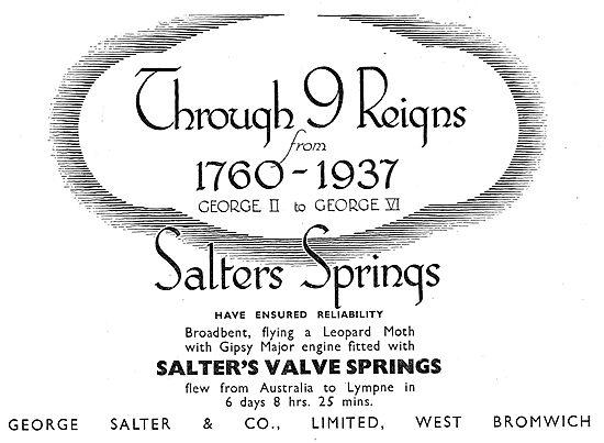 Salter's Aero Engine Valve Springs
