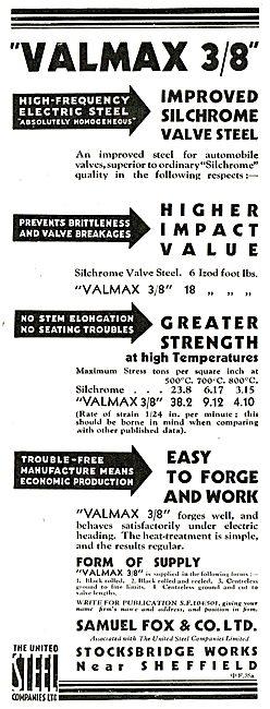 Samuel Fox Cold Rolled Strip & Drawn Wire - United Steel Co Ltd