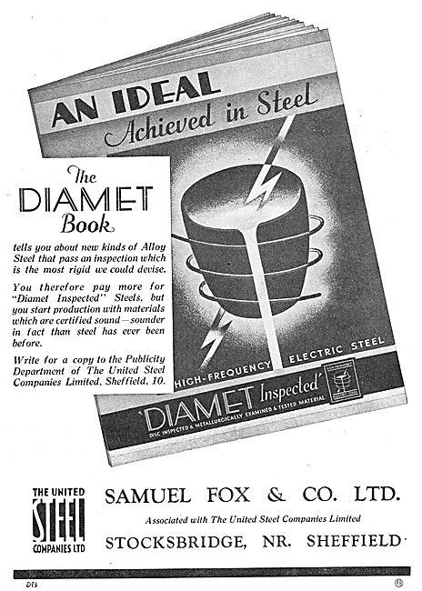Samuel Fox Diamet Steels - United Steel Companies
