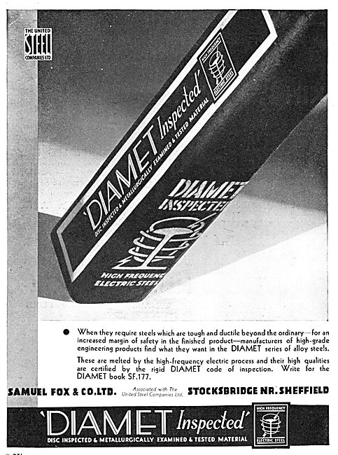 Samuel Fox - United Steel - DIAMET