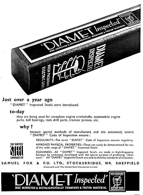 Samuel Fox Diamet Steel - United Steel Companies Ltd