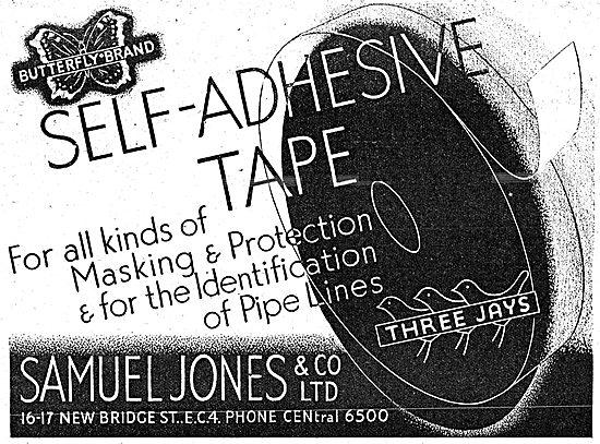 Samuel Jones Self Adhesive Cloth & Paper Masking Tapes