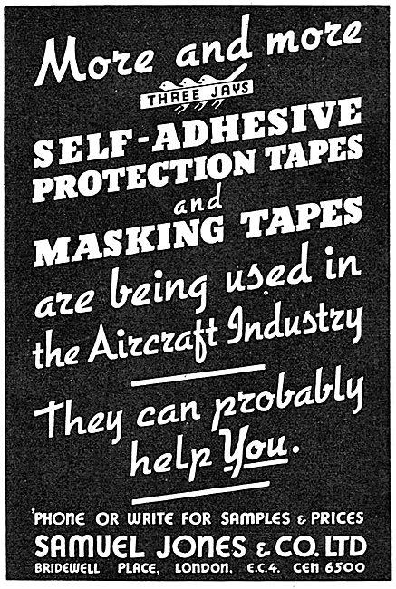 Samuel Jones -Self Adhesive Tapes. Masking Tape