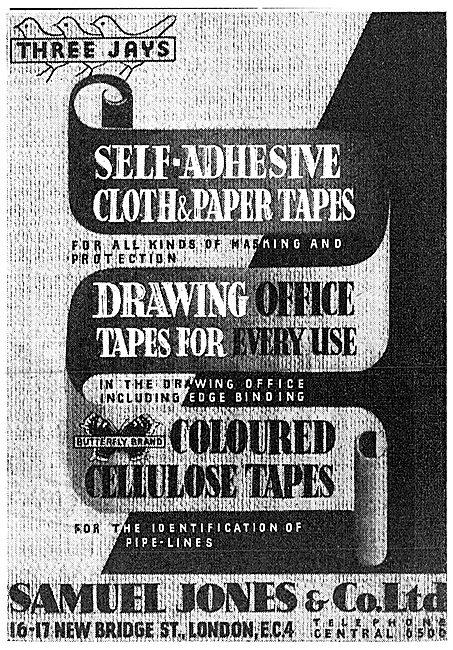 Samuel Jones Washers, Stencils & Tapes 1942
