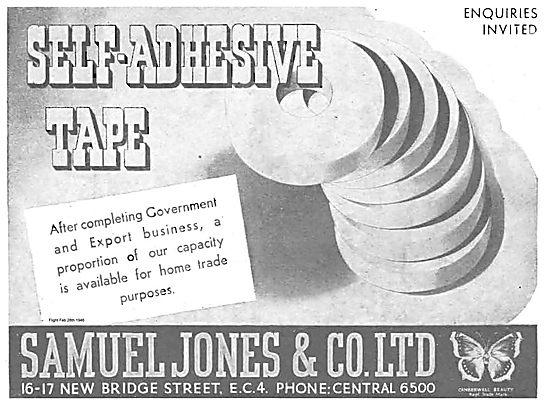 Samuel Jones Self Adhesive Tape