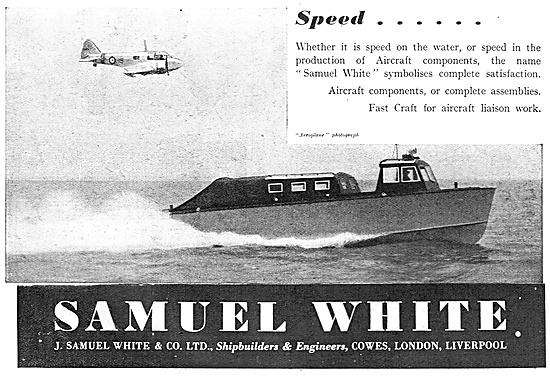 Samuel White Marine Craft 1940