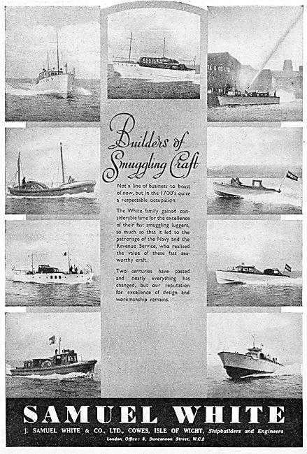 Samuel White Marine Craft 1941 Advert