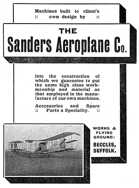 Sanders Aeroplanes