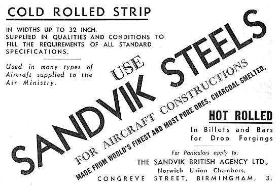 Sandvik Steels - Hot Rolled Billets & Bars. Steel Strip