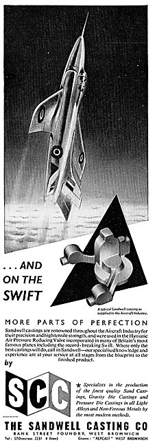 Sandwell Castings For The Supermarine Swift