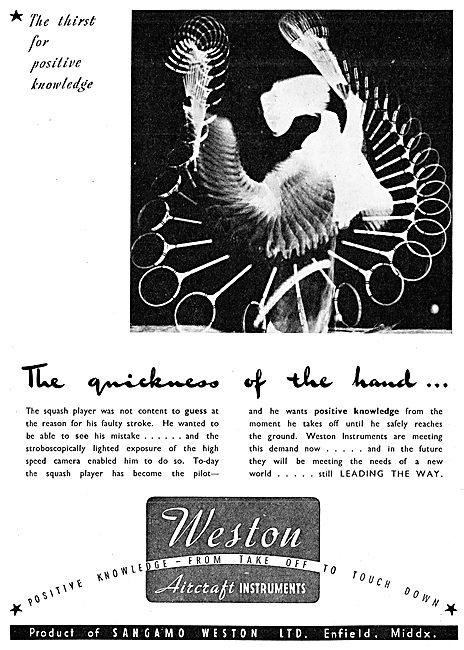 Sangamo Weston. Weston Aircraft Instruments