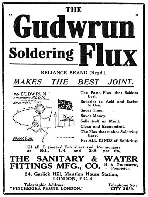 Sanitary & Water Co - Gudwrum Soldering Flux