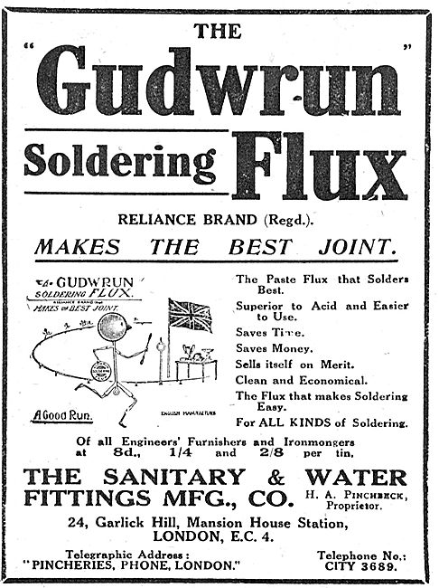 Sanitary & Water Co - Gudwrum Soldering Flux