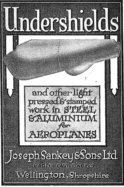 Sankey Aluminium Aircraft Undershields