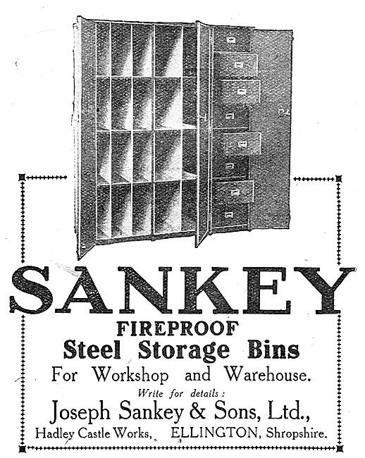 Sankey Fireprrof Storage Bins
