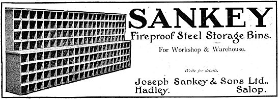 Sankey Fireproof Steel Storage Bins
