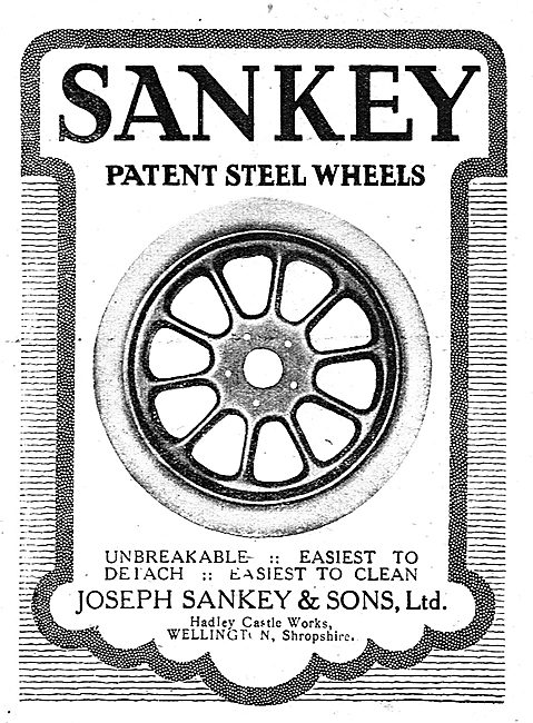 Sankey Patent Steel Wheels