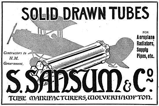 Sansum - Aeroplane Radiators & Pipework