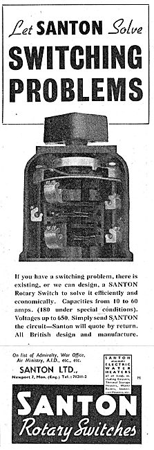 Santon Rotary Switches