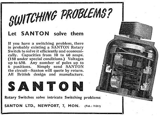 Santon Rotary Switches