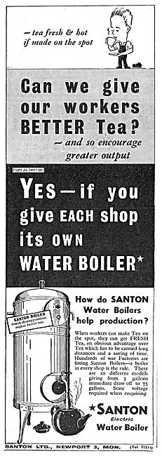 Santon Electric Water Boiler