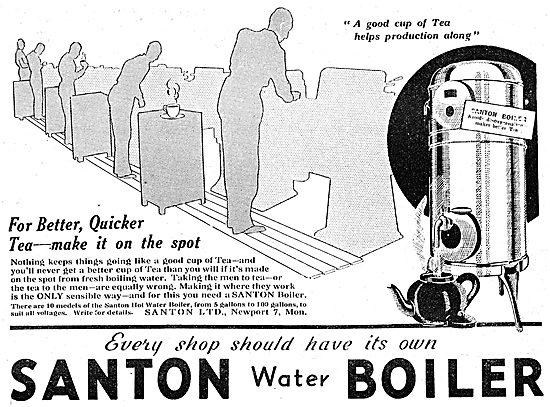 Santon Water Boilers
