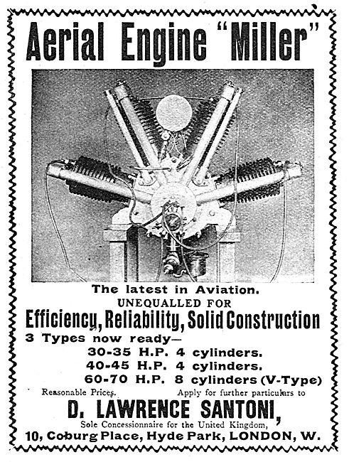 The Miller Aerial Engine - Santoni