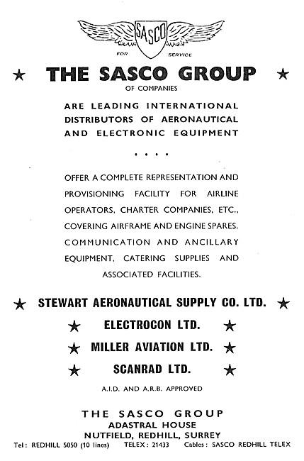 The Sasco Group Of Companies - Stewart Aeronautical Supplies