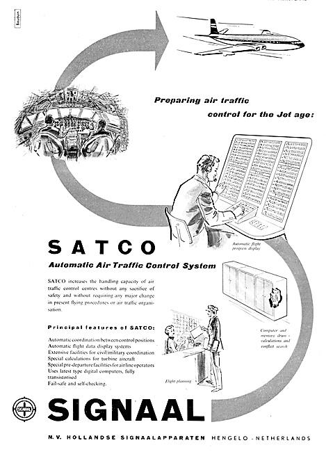 N.V.Hollandse SIGNAAL SATCO Air Traffic Control Systems