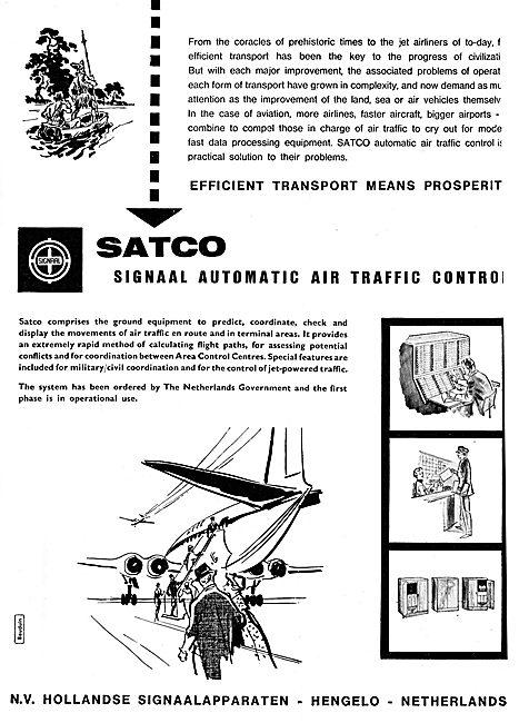 N.V.Hollandse SATCO Air Traffic Control Equipment