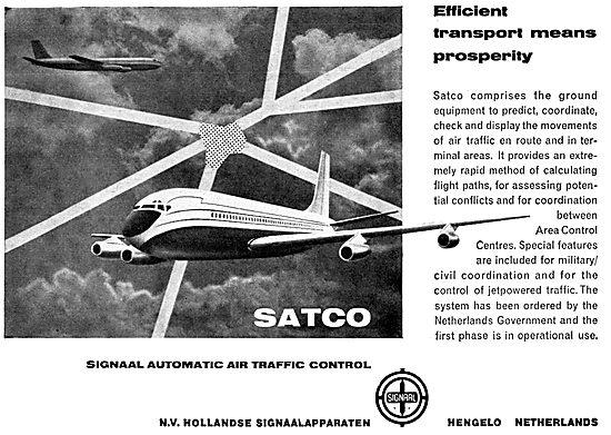 N.V.Hollandse SATCO Air Traffic Control Automation  Equipment