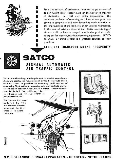 N.V.Hollandse SATCO SIGNAAL Air Traffic Control Systems