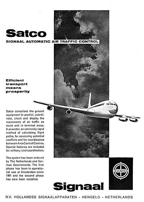 N.V.Hollandse SATCO - Air Traffic Control Displays