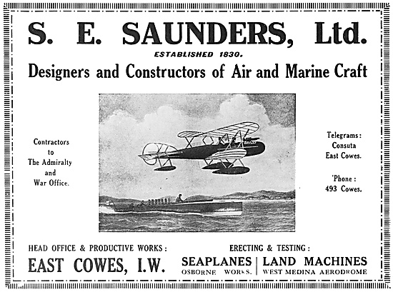 S.E.Saunders Aircraft