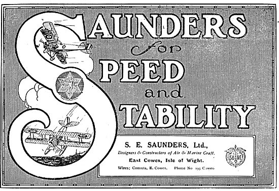 Saunders Aircraft For Speed & Reliability