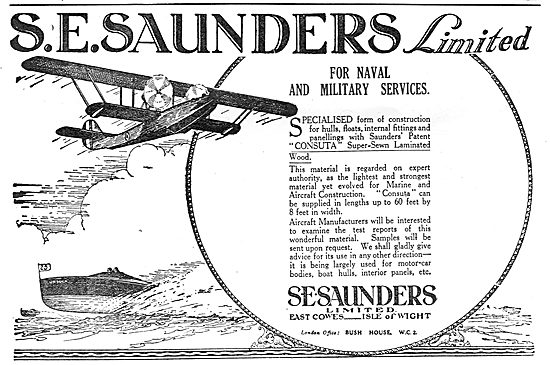 S.E. Saunders  - Consuta Super-Sewn Laminated Wood.
