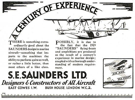 S.E. Saunders  - A Century Of Experience