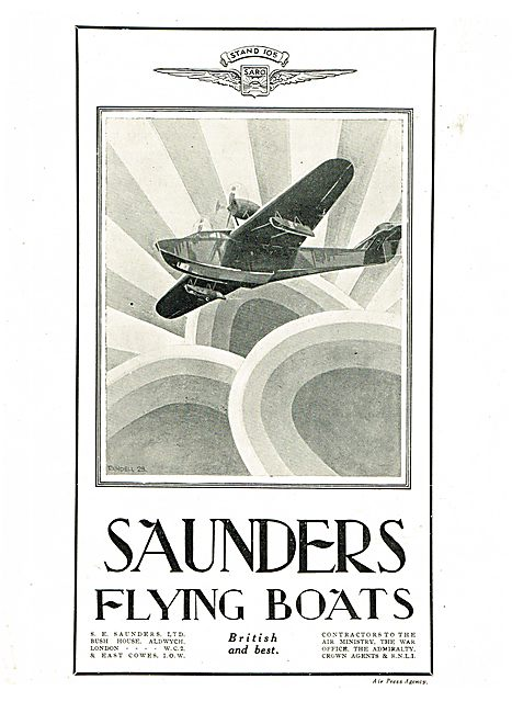 S.E. Saunders  - SARO Flying Boats