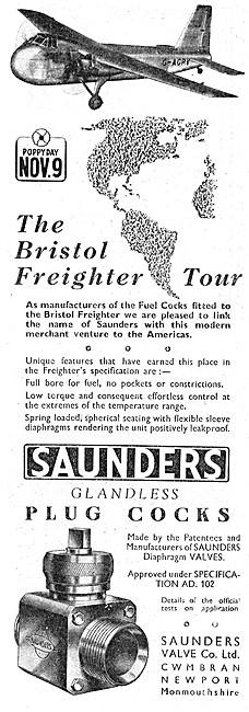 Saunders Valves & Glandless Plug Cocks