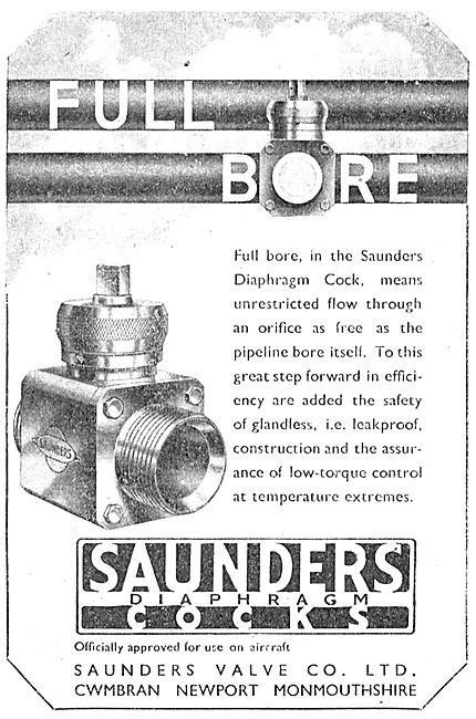 Saunders Valves & Cocks