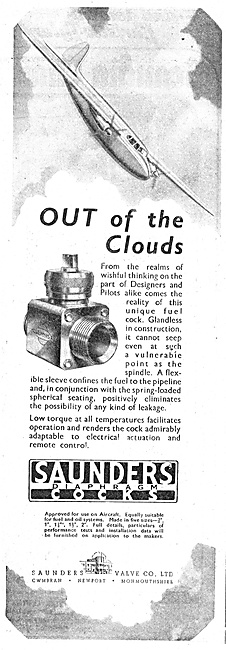 Saunders Aircraft Valves