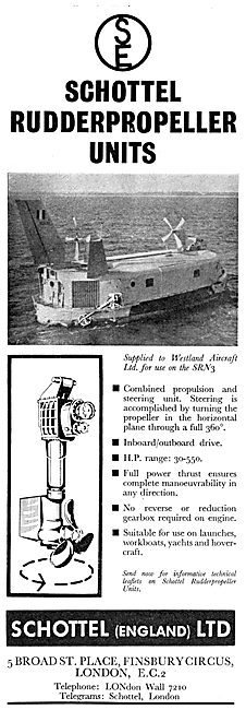 Schottel England. Rudder Propeller Units