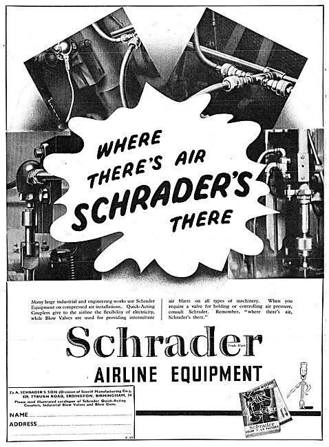 Schrader Pneumatic Air Line Equipment